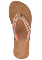 REEF Womens Gypsylove Sandals tobacco/coral/m