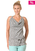 REEF Womens Kailo Long Tank Top heather grey