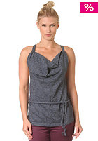 REEF Womens Kailo Long Tank Top hthr blue night