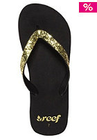 REEF Womens Krystal Sandals black/gold