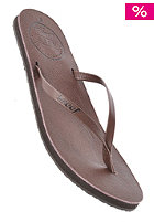 REEF Womens Leather Uptown Sandals brown