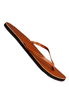 REEF Womens Leather Uptown Sandals tobacco