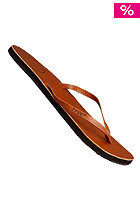 Womens Leather Uptown Sandals tobacco