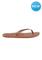 REEF Womens Lthr Uptown Sandals brown/coral