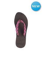 REEF Womens Mid Seas Sandals brown/pink