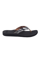 REEF Womens Midday Tides black/white