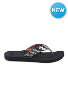 REEF Womens Midday Tides Sandals black/white