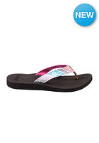 REEF Womens Midday Tides Sandals pink multi