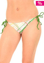 REEF Womens Plaidness Side Tie Bikini Pant coral