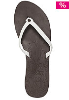 REEF Womens Sunburst Sandals brown/white