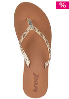 REEF Womens Twisted Stars Sandals tan/champagne