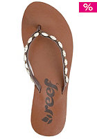 Womens Ugandal 4 brown/white/gold