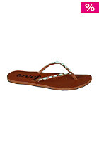 Womens Ugandal 4 tan/aqua