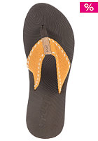 REEF Womens Zen Wonder Sandals brown/yellow