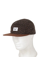 REELL 5 Panel Cap Wildlife olive