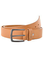 REELL All Black Buckle Belt caramel