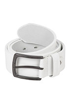 REELL All Black Buckle Belt white