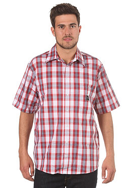 REELL Burger S/S Shirt red plaid