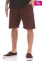 REELL Grip Chino Short aubergine