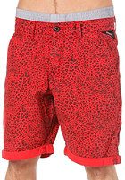 REELL Grip Chino Short red leopard