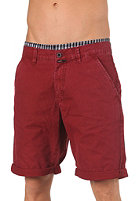 REELL Grip Chino Shorts wine red