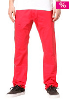 REELL Grip Tapered Chino Pant coral red