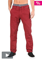 REELL Grip Tapered Chino Pant wine red