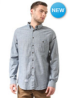 REELL Heavy Oxford L/S Shirt light blue
