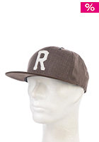 REELL Homerun Tweed Snapback Cap brown tweed