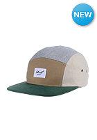 REELL Multicolor 5-Panel Cap green & sand