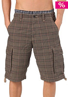 REELL New Cargo Short Ribstop chequered brown