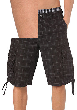 REELL New Cargo Shorts chequered black
