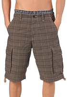 REELL New Cargo Shorts chequered brown