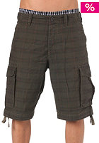 REELL New Cargo Shorts chequered olive