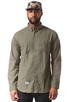 REELL Nordic L/S Shirt dark olive