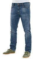 REELL Nova Denim Pant mid blue flow