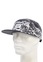 REELL Ocean 5-Panel Snapback Cap black/white