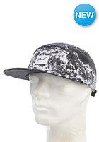 REELL Ocean 5-Panel Snapback Cap black/white