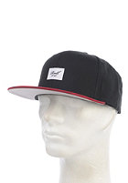 REELL Pitchout 6-Panel Cap black/red