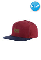 REELL Pitchout 6-Panel Cap burgundy/navy