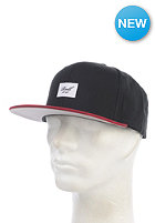 REELL Pitchout Snapback Cap black/red
