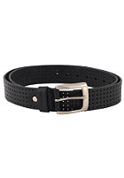 REELL Punched Leather Belt black