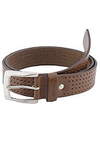 REELL Punched Leather Belt brown
