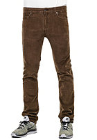 REELL Skin Denim Pant coffee brown corduroy