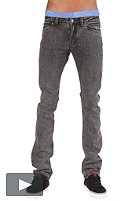 REELL Skin Stretch Pant black acid wash