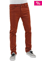REELL Skin Stretch Pant brown orange
