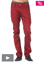 REELL Skin Stretch Pant wine red