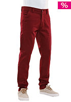 REELL Slim Stretch Chino Pant wine red