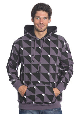 REELL Triangle Hooded Sweat purple/grey