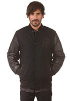 REELL Varsity Jacket black